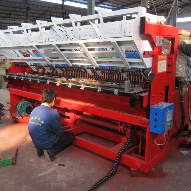 Mechanical-Reinforcing-Mesh-Panel-Welding-Machine