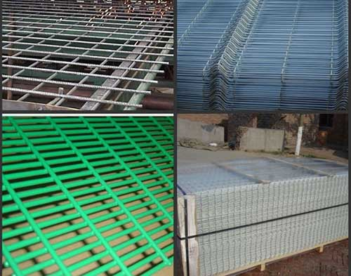 Welded wire mesh machine finished products
