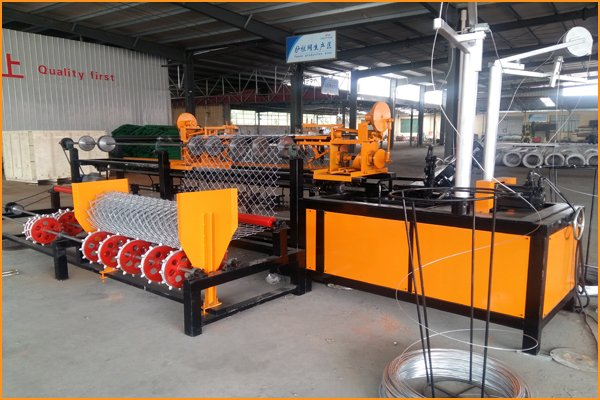 Chain Link Fence Machine introduction