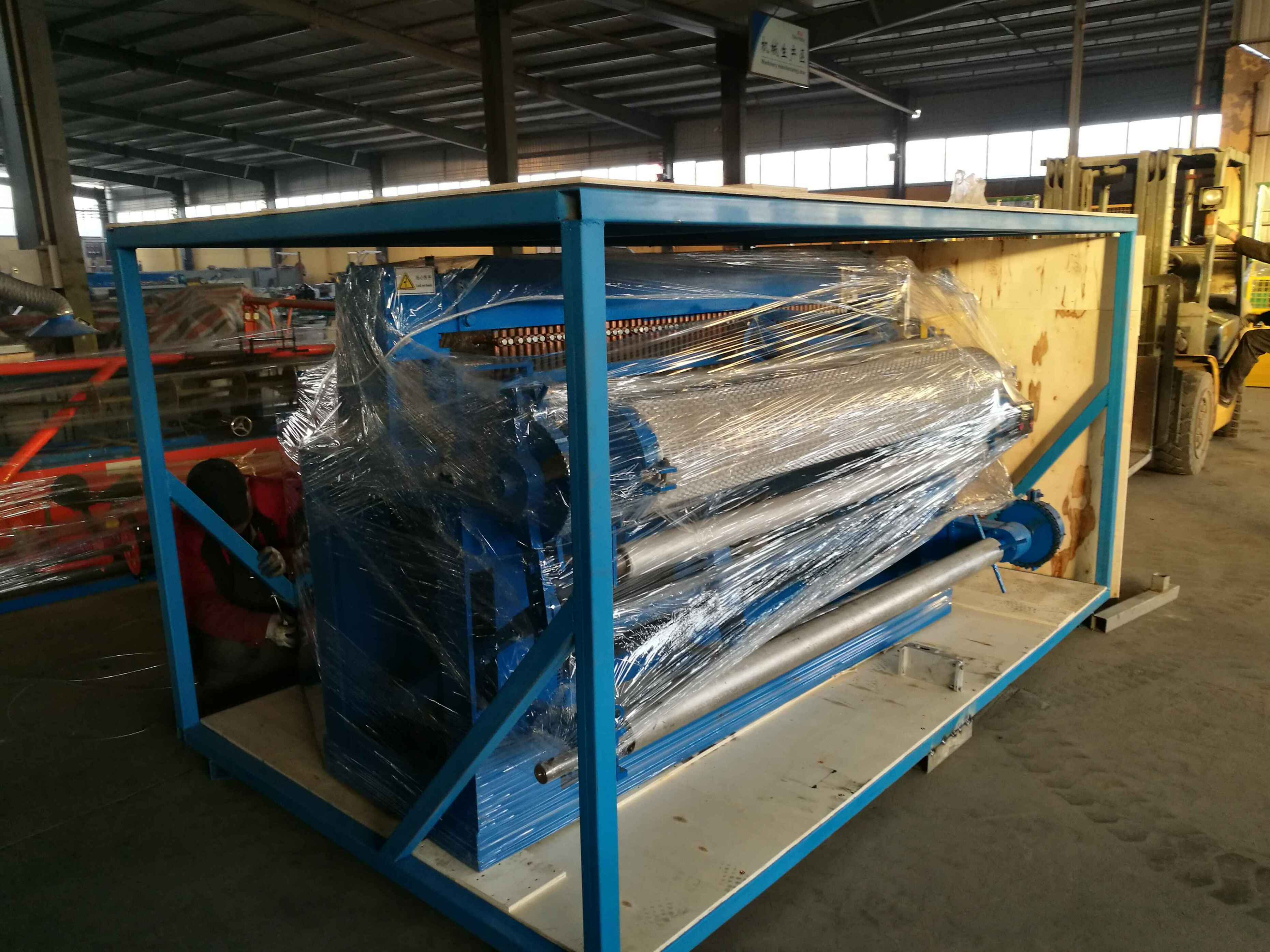 welded wire mesh machine packing