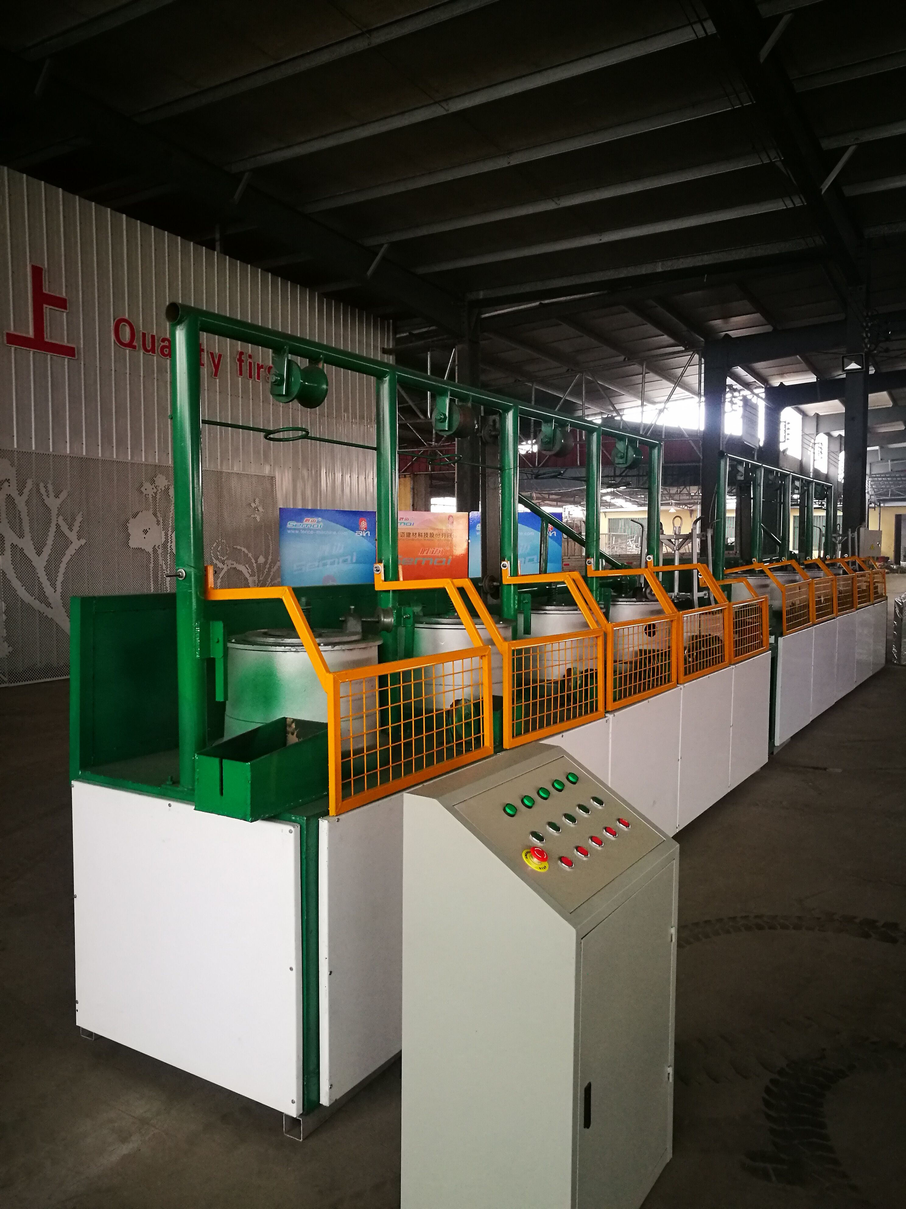 New Type Safe And Economical Wire Drawing Machine , Customers first and contact us now